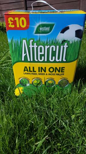 Westland Aftercut All in One Lawn Feed Weed and Moss Killer only instore - £6 @ Wilko