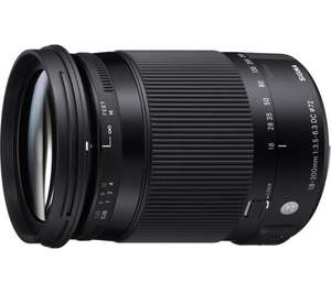 SIGMA 18-300 mm f/3.5-6.3 DC HSM OS Telephoto Zoom Lens with Macro - for Canon £279 @ Amazon/Currys/PCWorld