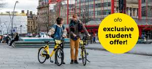 NUS Extra card holders can get 10 Free rides with ofo dockless bikes in London or Cambridge