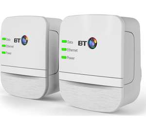 BT Broadband Extender 600 Powerline Adapter Kit - Twin Pack £22.99 @ Currys/PC World