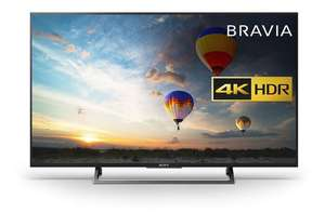 Sony BRAVIA KD49XE8004 (Black)49 inch 4K UHD HDR Smart LED Android TV Freeview HD  £554 at Richer Sounds (Hughes price matched)