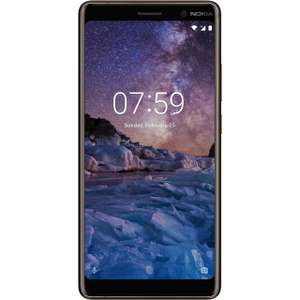 Nokia 7 Plus 64GB Smartphone in Black @ ao (£329 on account activation plus free Google home mini