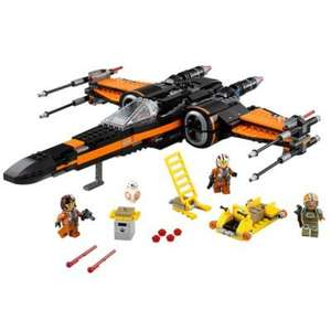 LEGO 75102 Poe's X-wing £45.99 @ Argos / Amazon
