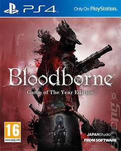 Bloodborne: Game of the Year Edition PS4 £11.69 USED @ MusicMagpie
