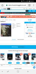 Fallout 4 (PS4) used £1.99 @ Musicmagpie