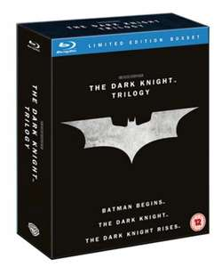 The Dark Knight Trilogy Blu Ray £6.65 @ Music Magpie (used)