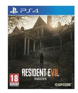 Resident Evil 7 used at music magpie £7.19