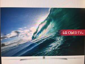 LG OLED55B7V 4K Smart TV £1349 with code @ AO / eBAY