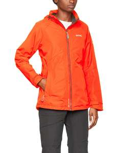 Regatta Women's Semita II Waterproof Shell Jacket Size 12 in Pumpkin £9.17 prime / £13.66 non prime @ Amazon