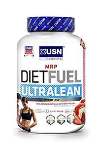 2kg USN Diet Fuel Ultralean Weight Control Meal Replacement Shake Powder £18.55 @ Amazon