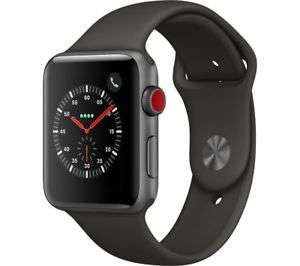 APPLE Watch Series 3 Cellular - 42 mm Space Grey & Grey (Sports Band) £359 @ Currys Ebay