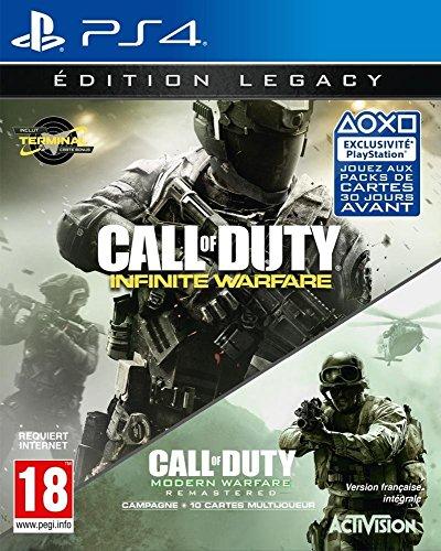 Call of Duty : Modern Warfare Remastered + Infinite Warfare - Legacy Edition Amazon.fr £10 delivered