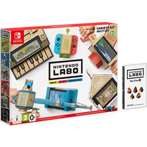 Nintendo Labo Toy-Con 01: Variety Kit for Nintendo Switch £52.99 Delivered / Nintendo Switch Console with Neon Red & Blue Joy-Con Controllers Labo Mega Bundle £389 at 365 Games