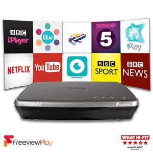 Freeview Play Recorder Humax FVP-4000T Refurb w/ 12 month warranty £99.95 @ eBay (Velocity Electronics)