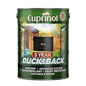 Cuprinol 5 Litre 5 Year Ducks Back - Autumn Black £7 Prime £10.99 Non Prime @ Amazon