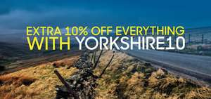 Extra 10% off everything including Outlet using code YORKSHIRE10 at Polaris Bikewear