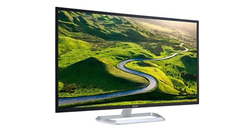 Acer EB321HQUA 31.5-Inch WQHD Monitor £229 @ Amazon