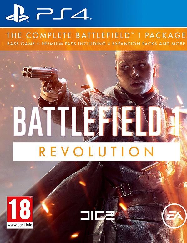 Battlefield 1 Revolution (PS4) £17 Prime £18.99 Non Prime @ Amazon