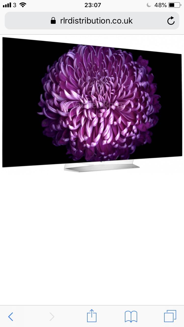 LG 55EG9A7V Full HD OLED Smart TV £879 @ RLR