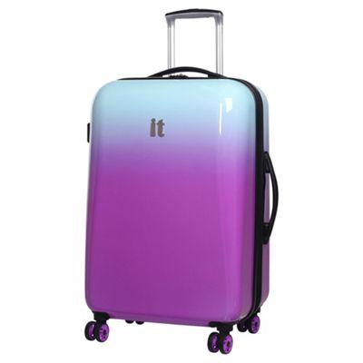 25% off it luggage Ombre Medium 8 Wheel Lilac/Aqua Suitcase £37 @ Tesco Direct