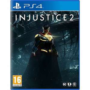 Injustice 2 PS4 USED £8.99 @ Music Magpie