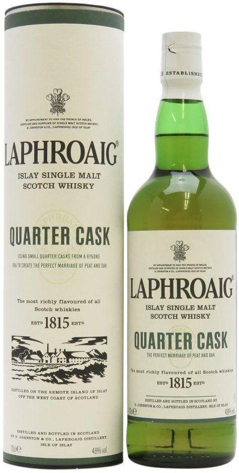 Laphroaig Quarter Cask Single Malt Whisky £29.50 @ Amazon
