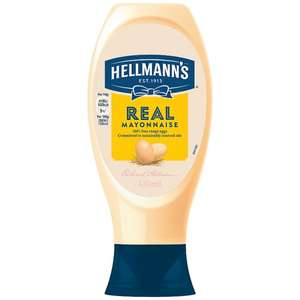 Hellmann's Real Squeezy Mayonnaise 430ml + Light versions £1 at Tesco