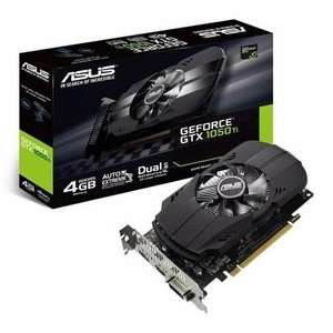 Asus Phoenix Nvidia GeForce GTX 1050 Ti 4GB GDDR5 Graphics Card for £132.97 @ Laptopdirect