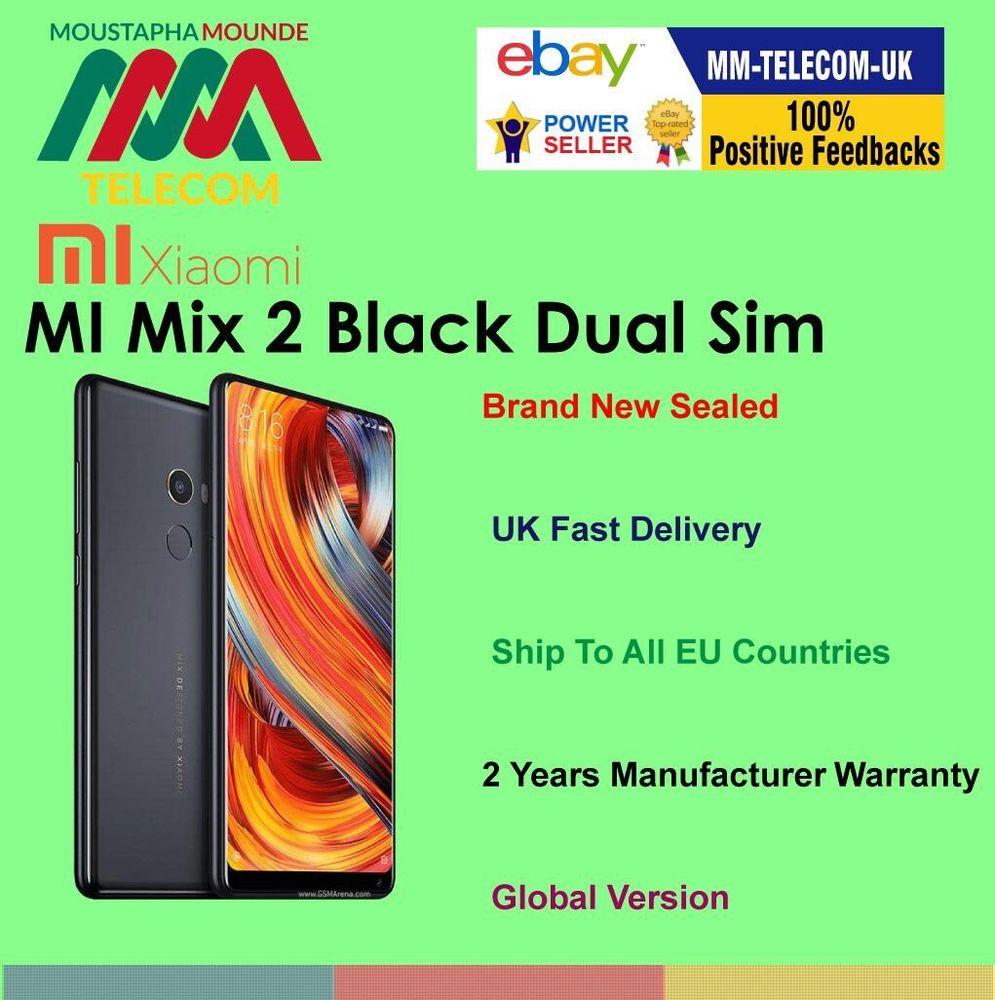 New Xiaomi mi mix 2 64gb £306.25 @ ebay MM-telecom-UK