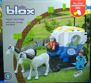 Wilko blox - royal carriage £0.50 reduced from £5.00, Wilko Porthmadog