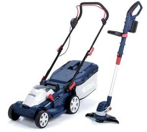 Spear & Jackson 34cm Cordless Lawnmower And Trimmer - 2x 24V £199.99 @ Argos