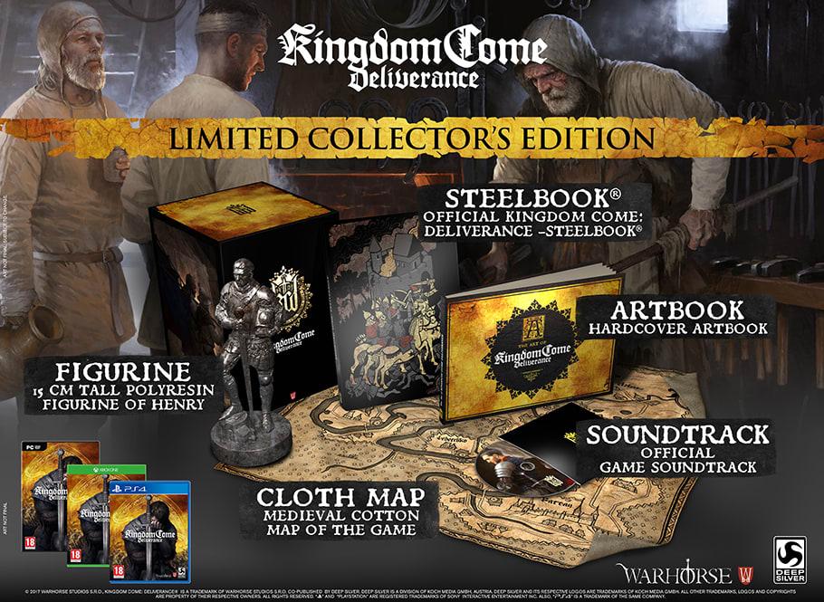 Kingdom Come Deliverance Collectors Edition PS4 £28.44 @ Games Centre via GAME