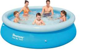 8ft swimming pool - £19.99 / £24.98 delivered @ Wowcher