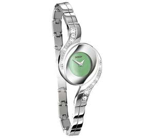 Seksy Ladies' 4881 Green Dial Bracelet Watch £29.99 @ Argos