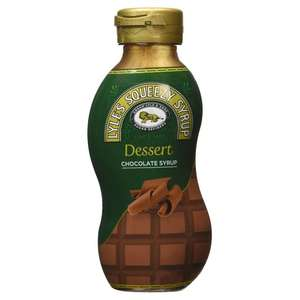 LYLE'S SQUEEZY CHOCOLATE SYRUP 325G 69p @ Poundstretcher