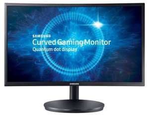 "Samsung C24FG70 24"" 144Hz 1ms Curved Gaming Monitor £179.99 @ Ebuyer"