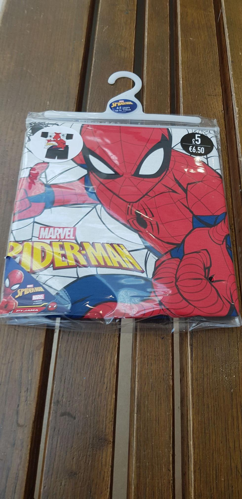 Spiderman Pyjamas Poundland - £3 instore