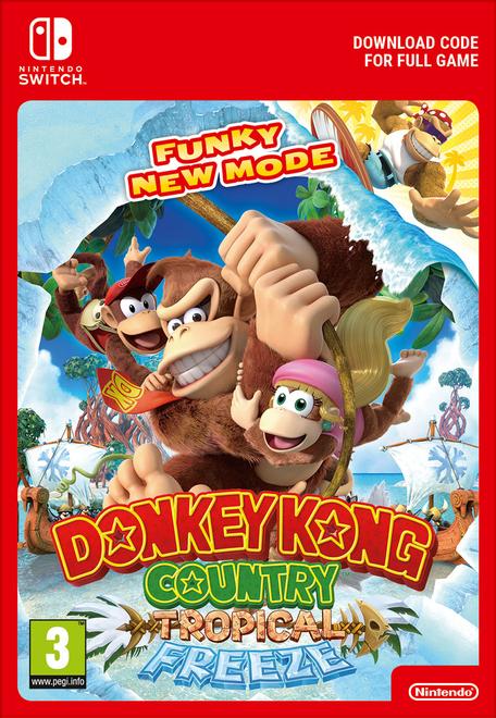 Donkey Kong Country Tropical Freeze Nintendo Switch Digital Copy £44.99 (£42.74 with 5% Code) @ CDKeys