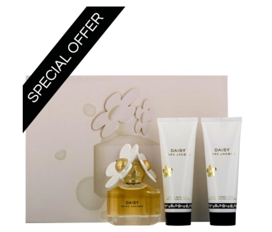 Marc Jacobs Daisy Eau de Toilette Spray 50ml Gift Set @ Allbeauty.com now £37.95 Free delivery