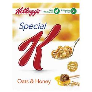 KELLOGG'S SPECIAL K OATS & HONEY 375G 79p @ Poundstretcher