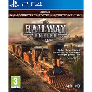 Railway Empire PS4/Xbox One only £24.99 @ 365Games