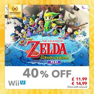 The Legend of Zelda: Wind Waker HD [Wii U] [100 Gold - 40% Off] £11.99 @ Mynintendo