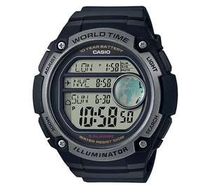 Casio Men's World Time Digital Watch £22.49 @ Argos