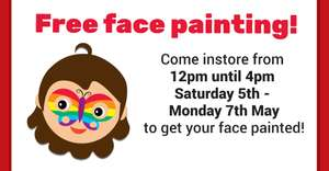 Free Face Painting at New Smiggle Store on Oxford St, London - Sat 5th May to Mon 7th May 2018