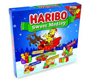 Haribo Sweet Medley Gift Box, 540 g (Pack of 3) - £4.37 - Amazon add on item minimum 20 pound spend required