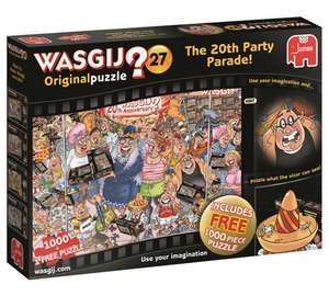 Two WASGIJ puzzles for £15 (including 27 Anniversary 2 Pack) @ Argos