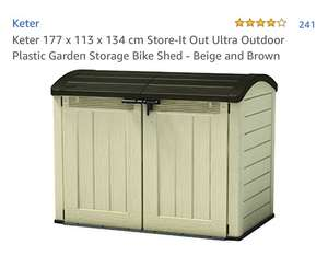 Keter 177 x 113 x 134 cm Store-It Out Ultra @Amazon for £190.40