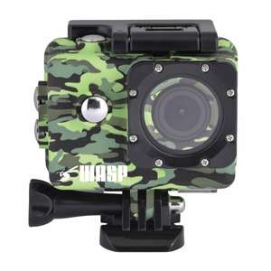 WASPCAM 9942 WI-FI 4K SPORTS ACTION CAMCORDER - CAMO at IWOOT for £24.99