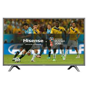 "Hisense H55N5700 LED HDR 4K Smart TV, 55"" with Freeview Play - John Lewis for £479"