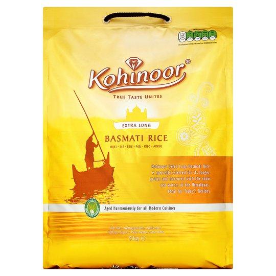 Kohinoor Basmati Rice 5kg at Tesco Express for £7.50